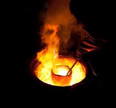 elements shall melt with fervent heat?