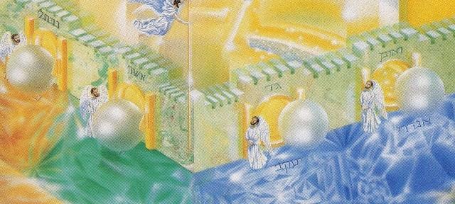 I John saw the holy city, new Jerusalem,