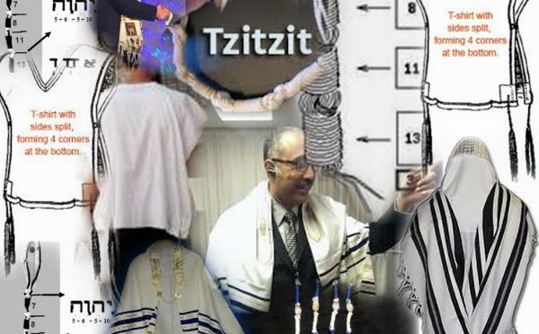 Tallit, tzitzit, fringes and tassels